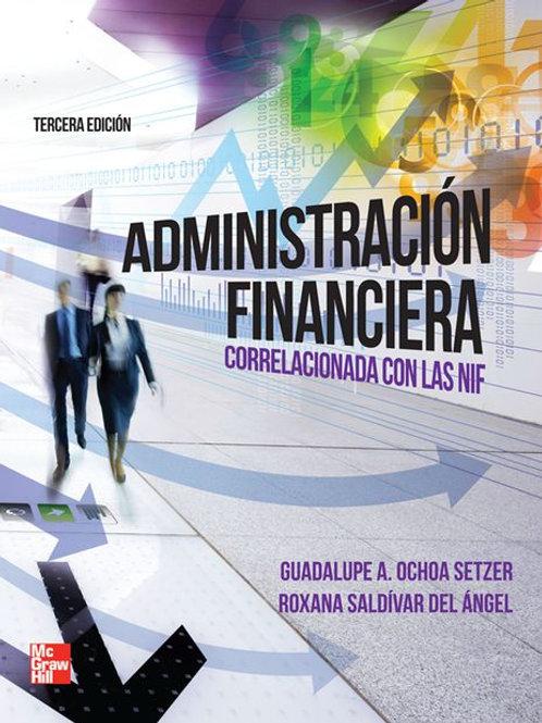 Administración financiera correlacionada con las NIF