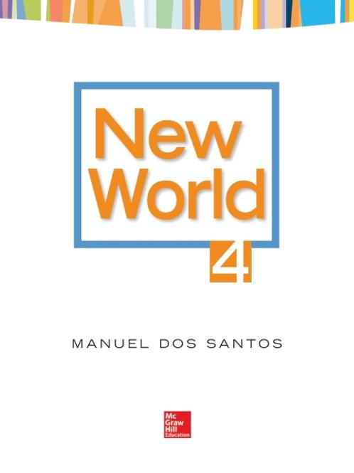 New World. Student Book 4.