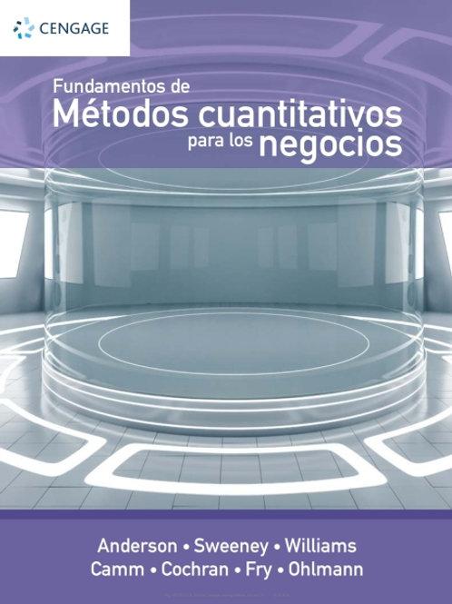 Fundamentos de métodos cuantitativos para los negocios