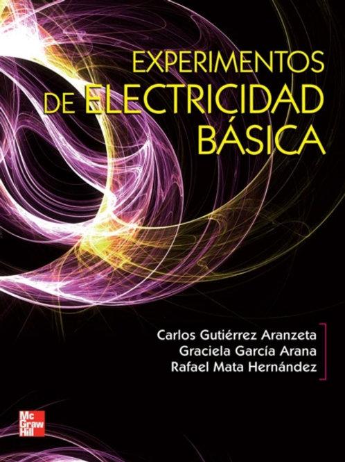 EXPERIMENTOS DE ELECTRICIDAD BÁSICA