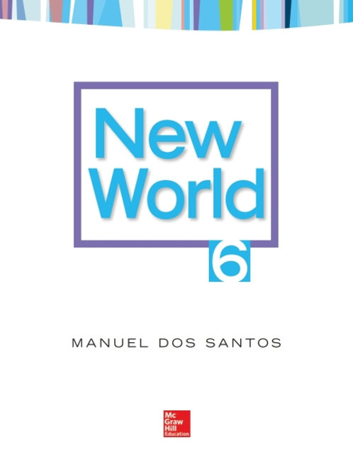New World. Student Book 6.