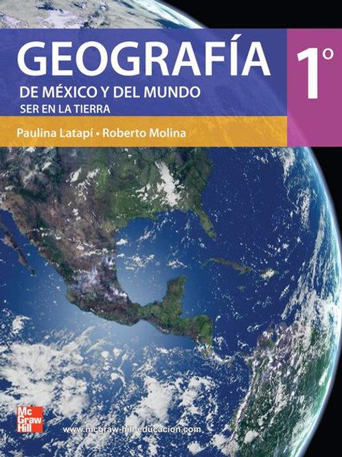 Geografía de México y del mundo. Comprometid@s con el espacio geográfico