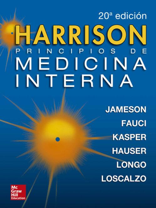 Harrison. Principios de Medicina Interna.