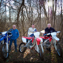 Steve, Eric, and Don for Adventure Indiana Magazine