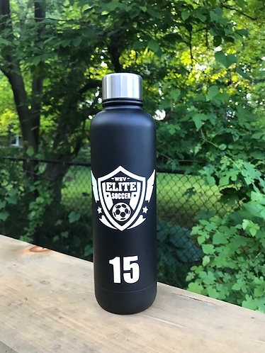 Matte Black Stainless Steel Waterbottle