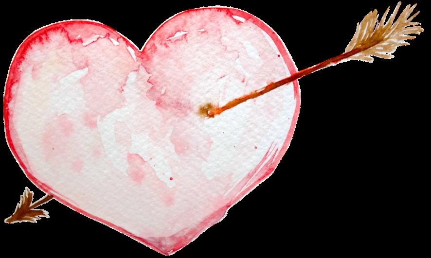 Hearth with arrow
