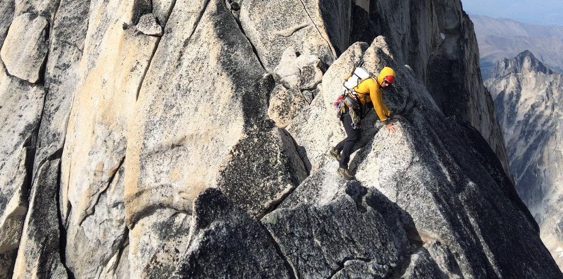 NE ridge of Bugaboo Spire