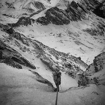 Lift access, couloir skiing in La Grave