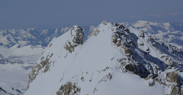 East Face of the Middle Teton