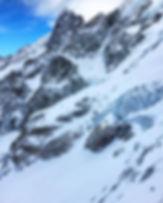 Skiing La Grave