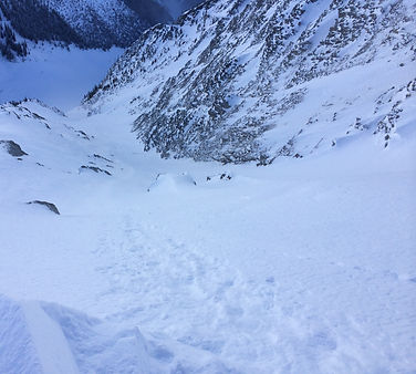 Looking Down the North Face of Cheops