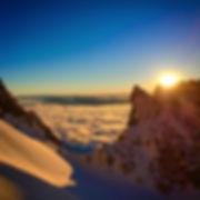 Skiing the Grand Teton