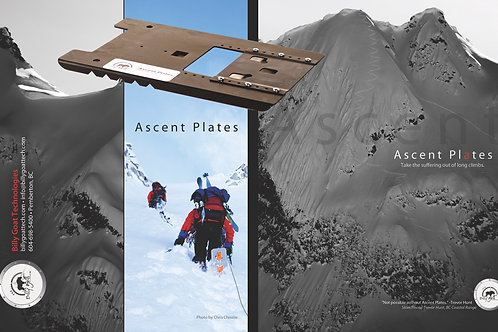 Billy Goat Ascent Plates. Small ONLY