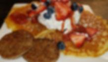 pancakes with sausage