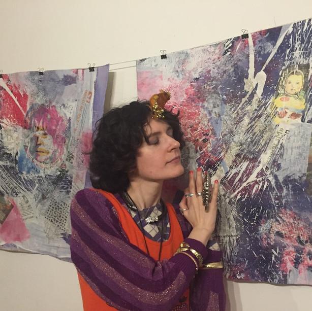 exhibition urban diaries, gallery 2.04, Claudia Blaesi Artist