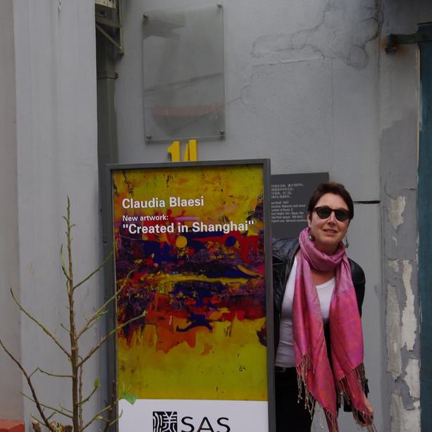 Claudia Blaesi Exhibition Artist Poster