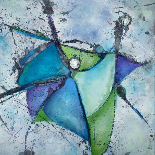Joy (blue) II