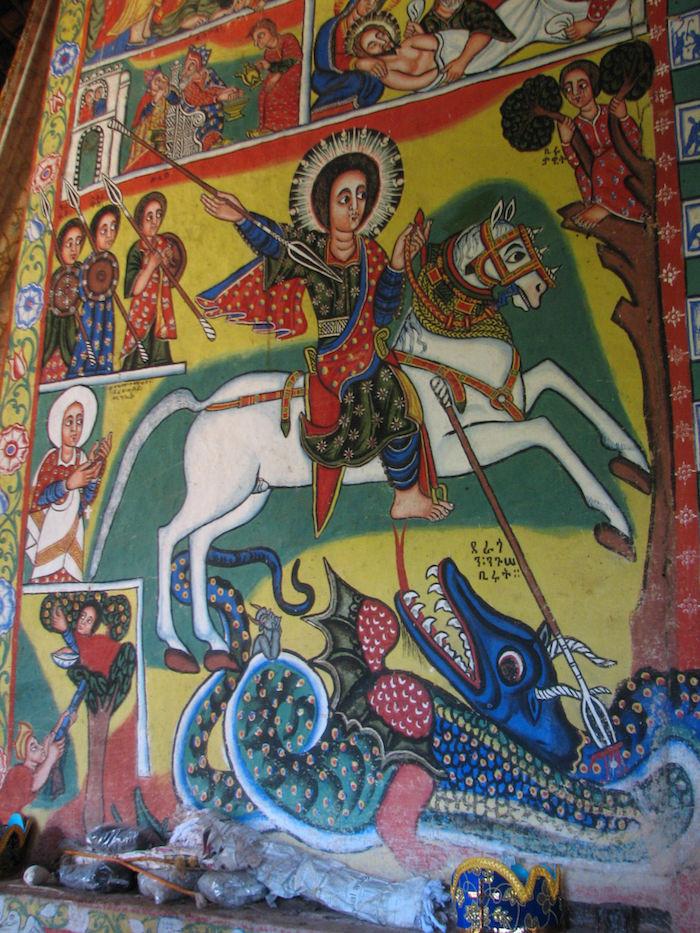 Lake Tana - Azwa Mariam Monastery painti