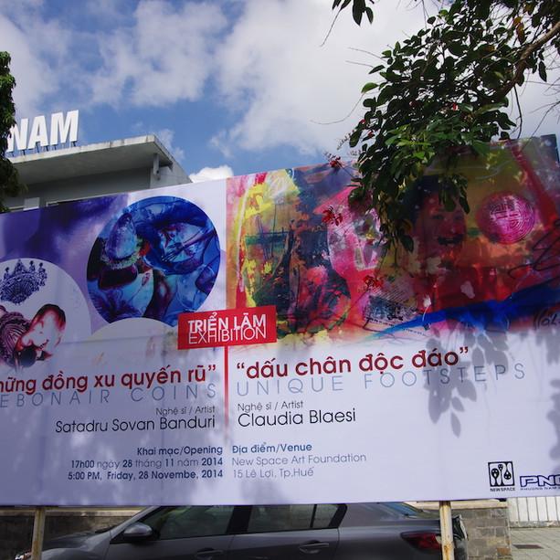 Poster-Exhibtion Claudia Blaesi