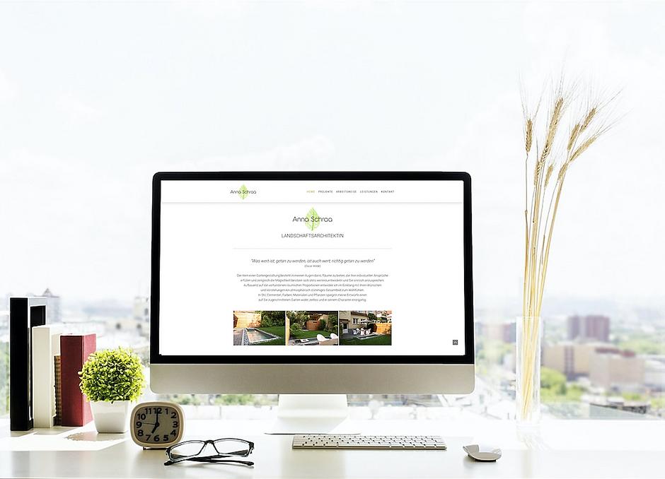 Webdesign Agentur erstellt Webseite für Landschaftsarchitekten und Naturschutz