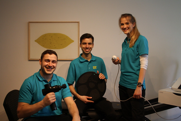 Physiotherapeuten in Basel - Physiotherapiepraxis Basel - Team