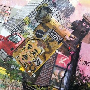 Icons@NYC, 2 I love you earth