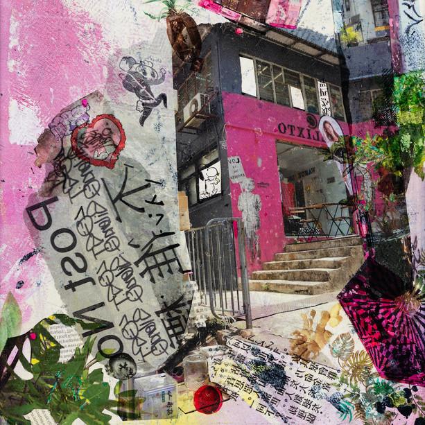 Icons@Hong Kong, 3  pink house
