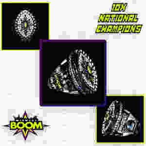 7v7 National Championship Tournament Ring