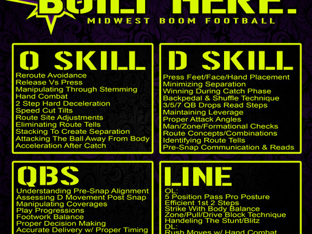 #BOOMBUILT - BOOM's Football Skill Development