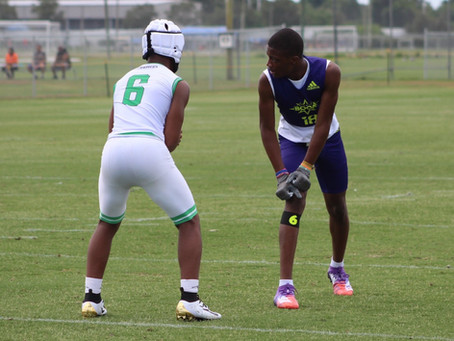 2023 WR Carnell Tate Talks Recruiting