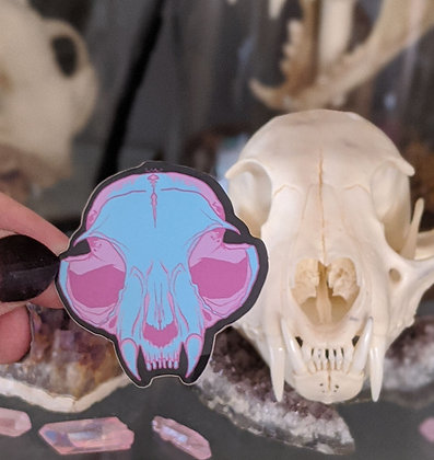 Cotton Candy Skull