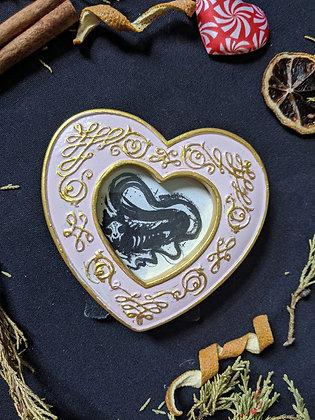 Mini ghost heart