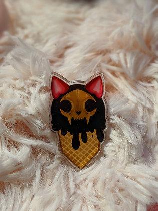 LIMITED STOCK  SUMMERWEEN pin (icecream)
