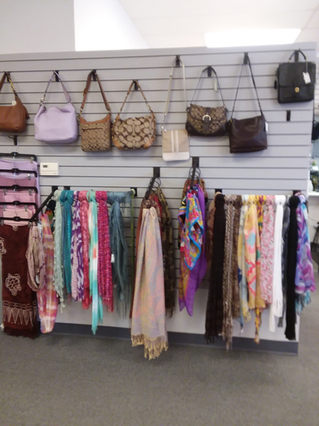Scarf's and purses!