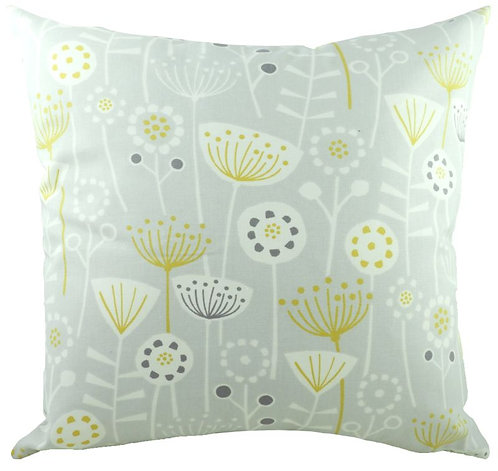 Nordic Seedheads Grey Cushion 43cm