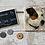 Thumbnail: Set of 4 Natural Stone Decoupaged Coasters