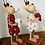 Thumbnail: Red & White Nordic Wooden Reindeers
