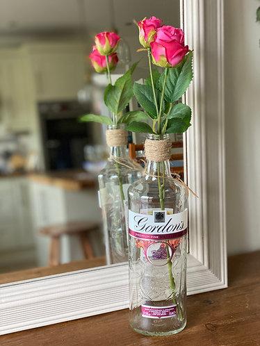 Gordons Faux Rose Bottle