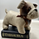 Thumbnail: Cream Faux Leather Patchwork Dog Doorstop