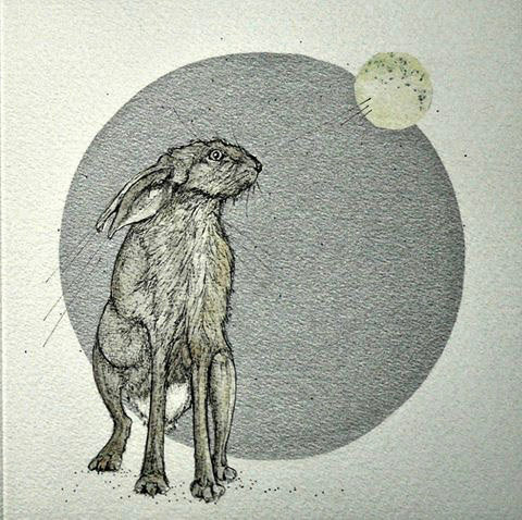 'To the Moon and back' Greetings Card