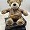 Thumbnail: Aged Faux Leather Teddy Doorstop
