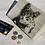 Thumbnail: Hand Painted, Decoupaged Cat Log