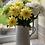 Thumbnail: White Fleur De Lis Ceramic Jug