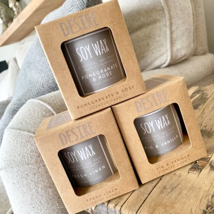 Soy Wax Scented Candles