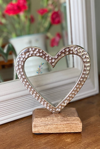 Silver Hammered Heart