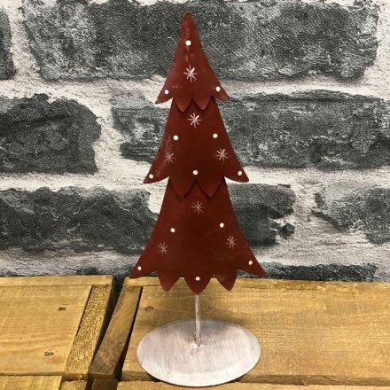 Rustic Metal Christmas Tree