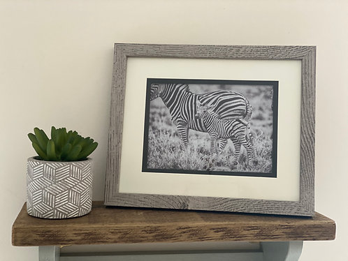 "Rustic Greywash Wooden 5X7"" Photo Frame"