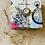 Thumbnail: Alice in Wonderland, natural stone travertine coasters