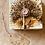 Thumbnail: Hedgehog natural stone travertine coasters