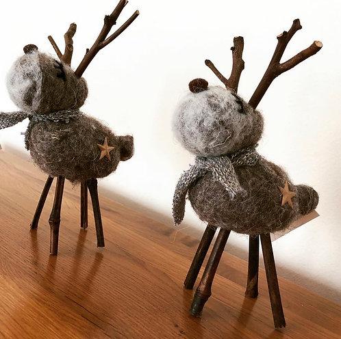 Woolen Rustic Reindeer